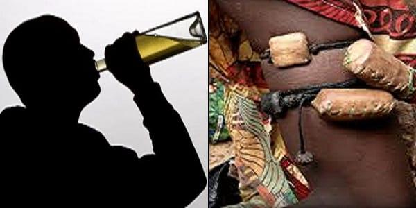 homme alcoolique