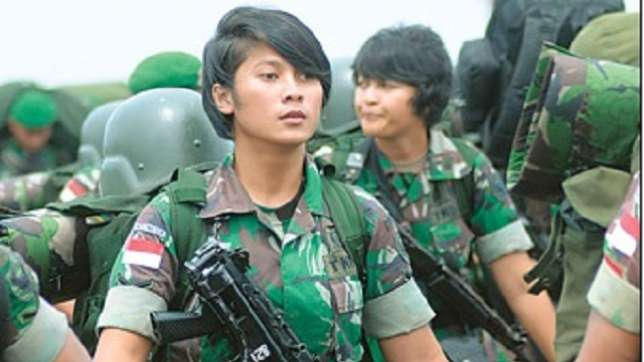 Indonesian-Female-Officers
