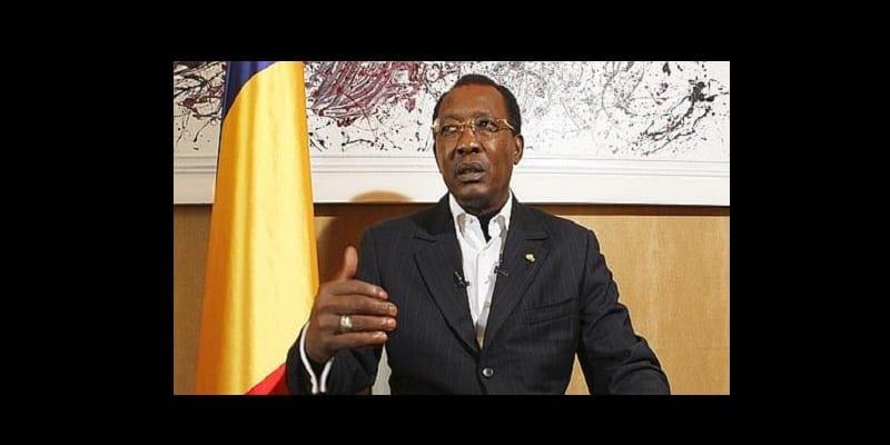 Idriss Déby, Président du Tchad, répond à un interview du Figaro, lors de son passage à Paris.