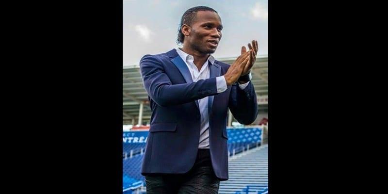 Didier Drogba à l'impact
