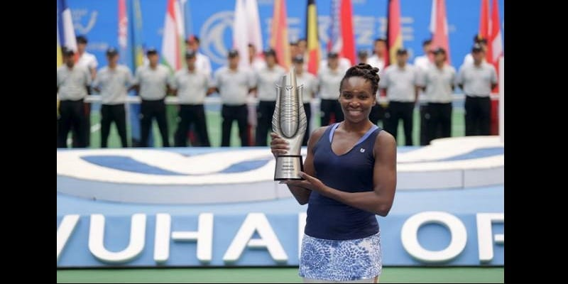Venus Williams titrée à Wuhan