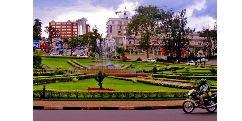 Afrique Grande Ville