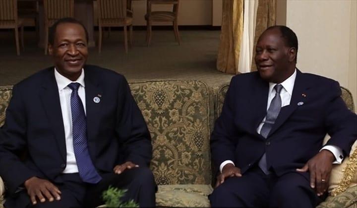 Blaise-Compaore-et-Alassane-Ouattara