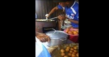 vendeur de beignets