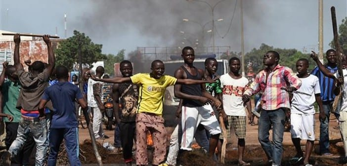 Photo d'archives. Putsch septembre 2015 Burkina Faso
