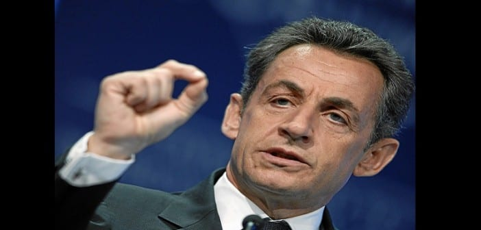 DAVOS/SWITZERLAND, 27JAN11 - Nicolas Sarkozy, President of France, gestures during the session 'Vision for the G20' at the Annual Meeting 2011 of the World Economic Forum in Davos, Switzerland, January 27, 2011.  Copyright by World Economic Forum swiss-image.ch/Photo by Moritz Hager