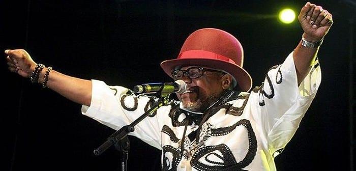 Image du dernier concert de Papa Wemba au FEMUA à Abidjan, quelques instants avant sa mort