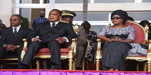 Sassou NGuesso et Mme- Image d'archive de grioo.com