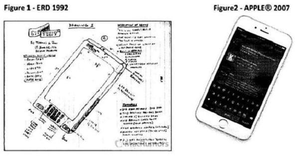 Un homme prétendant être l'inventeur de iPhone porte plainte contre Apple et réclame plus de 10 milliards de dollars