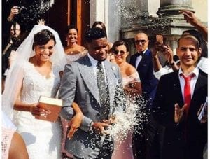 Samuel Eto'o se marie avec Georgette à Rome (photo)