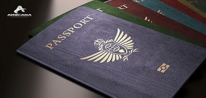 Selection of passports