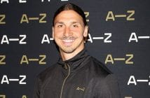 during the Zlatan Ibrahimovic Launches A-Z Line on June 7, 2016 in Paris, France.