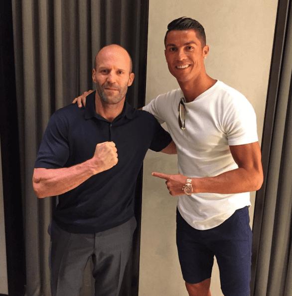 Cristiano Ronaldo Fait une rencontre surprise à Los Angeles...(photo)