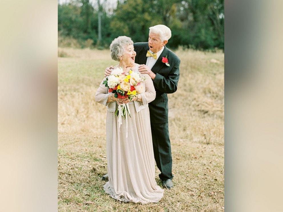 Les émouvantes photos de la célébration de leurs 63 ans de mariage