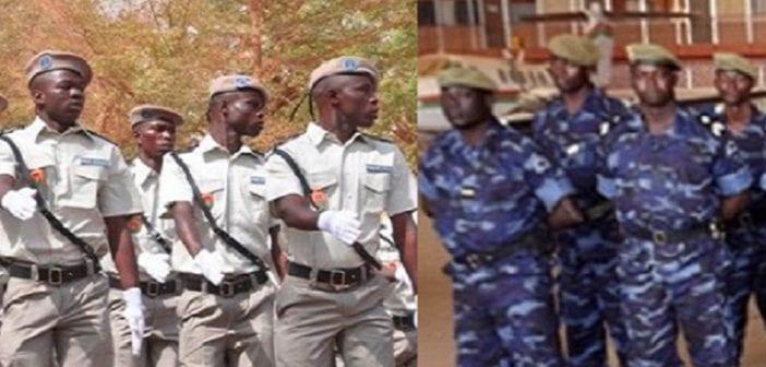 Police vs Gendarme