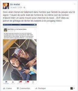 DJ Arafat clashe Bebi Philip...Les raisons!