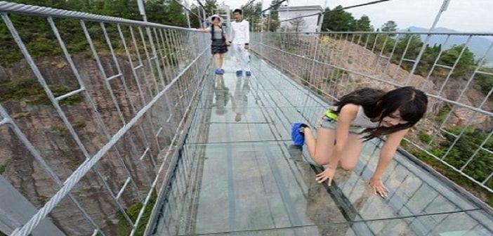 Pont en verre