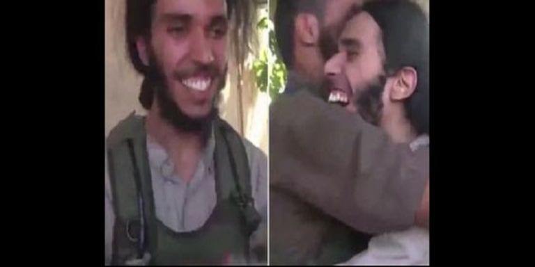 Daech: Un combattant saute de joie après avoir été choisi comme le prochain à mourir: PHOTOS/VIDÉO