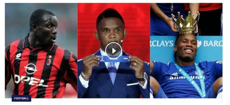 Le top 10 des plus grands attaquants africains de tous les temps (Eurosport)