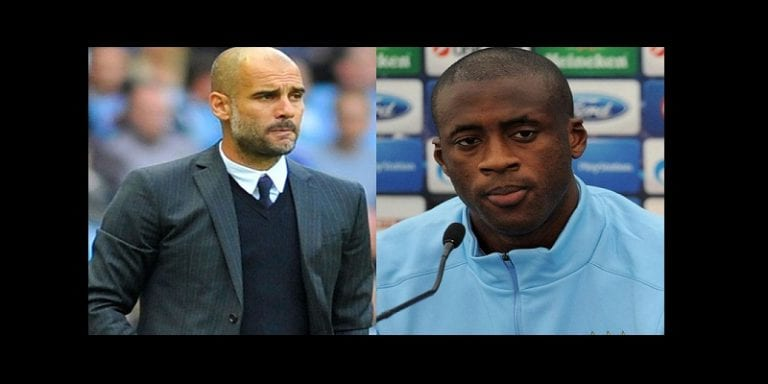 Manchester City: Pep Guardiola s'exprime à nouveau sur le cas Yaya Touré