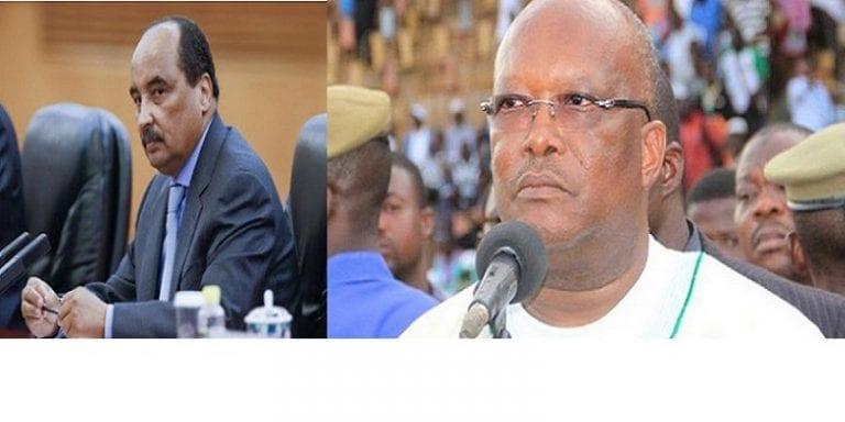 Le président mauritanien très fâché contre son homologue du Burkina...Les raisons!