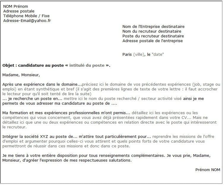lettre de motivation lettre de motivation Lettre avec plusieurs destinataires lettre de motivation creche  lettre de motivation lettre de motivation