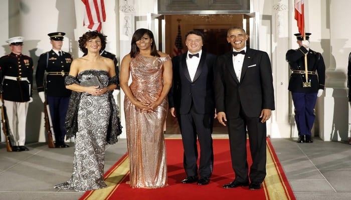 Michelle Obama : Le prix de sa robe haute-couture au dernier diner à la maison blanche, révélé...Photos