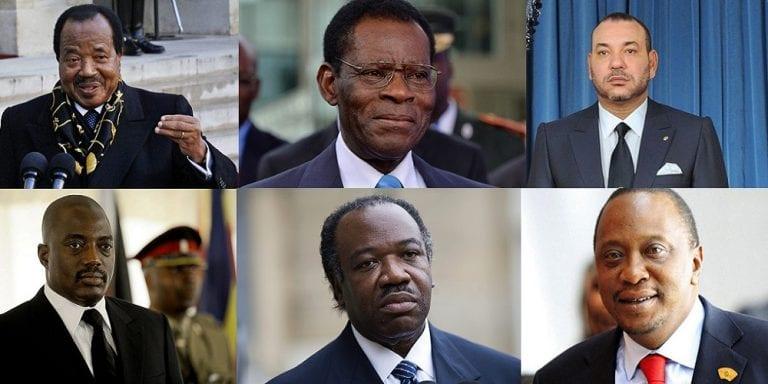Top 10 des présidents africains les plus riches en 2016
