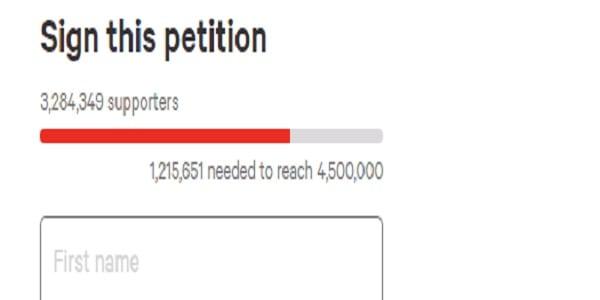 Plus de 3 millions de personnes signent une pétition pour destituer Donald Trump