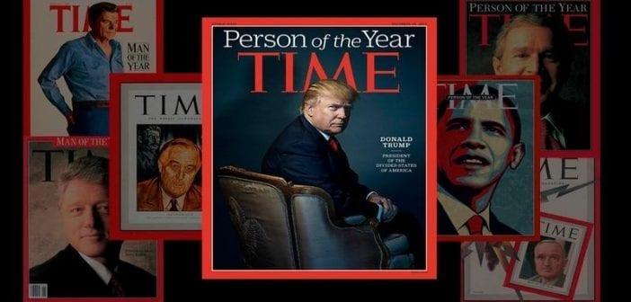 Donald Trump désigné «personne de l'année» 2016