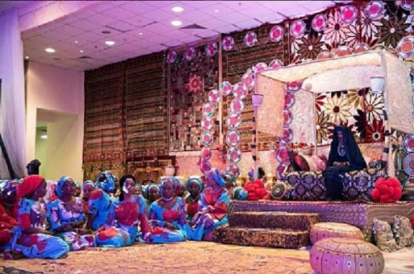 Nigeria: Découvrez en photos le somptueux mariage de la fille du président Buhari