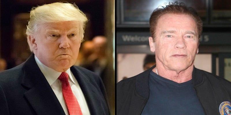 USA: Donald Trump s'attaque à Arnold Schwarzenegger, l'acteur américain répond...