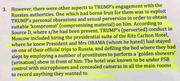 Donald Trump aurait embauché des pr0stituées pour souiller la chambre d'hôtel de Moscou où les Obama dormaient