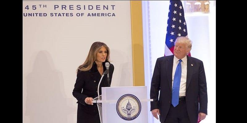 Donald Trump: Quand sa femme Melania lui offre un moment gênant en public (VIDÉO)