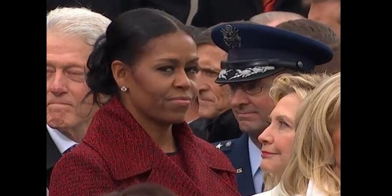 USA: l'investiture de Donald Trump, un moment gênant pour Michelle Obama...Explications