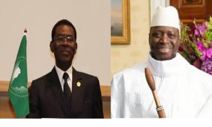 Guinée-Equatoriale: L'arrivée de yahya jammeh à Malabo crée déjà la polémique...Explications!