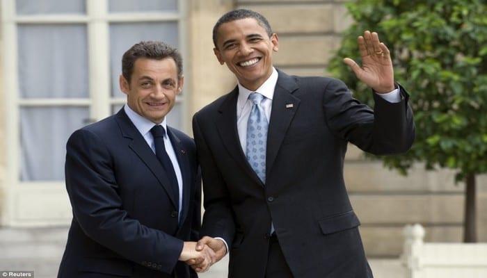 Nicolas sarkozy adresse un message barack obama apr s for Adresse de la maison blanche