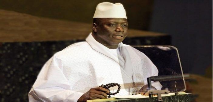 Après avoir accepté de quitté le pouvoir, voici la déclaration de Yahya Jammeh