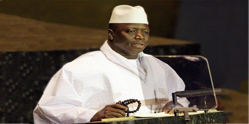 Après avoir accepté de quitter le pouvoir, voici la déclaration de Yahya Jammeh