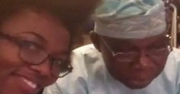 Bridget et Obasanjo