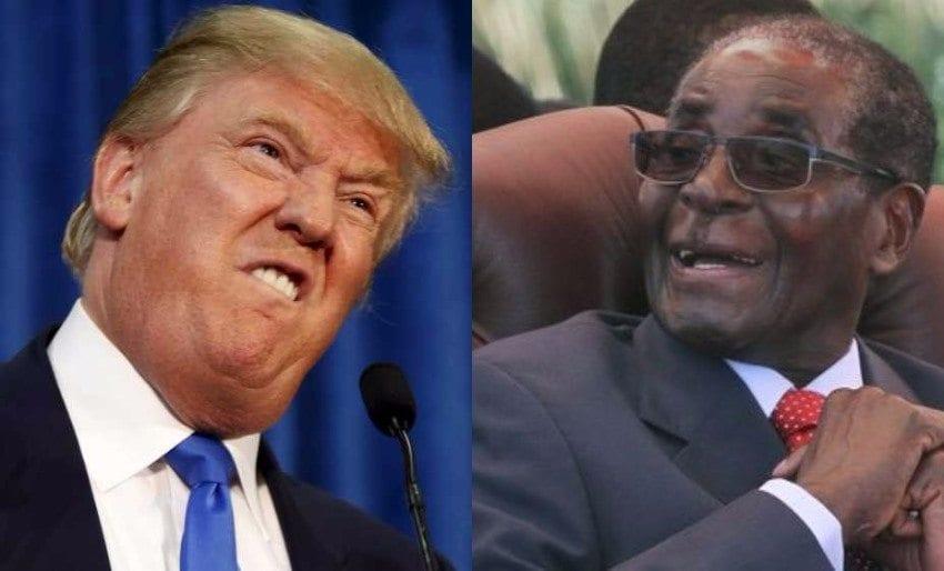 Voici ce que pense Mugabe  de Donald Trump