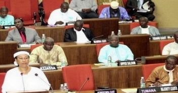 Parlement gambien
