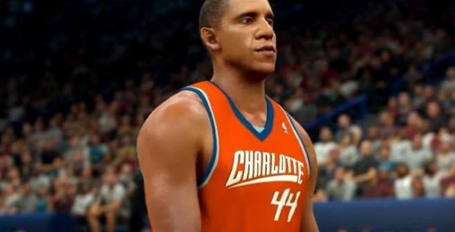 USA: Barack Obama dans le jeu vidéo NBA 2K17...Vidéo