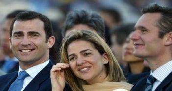 Roi d'Espagne-infante Cristina-son mari Inaki