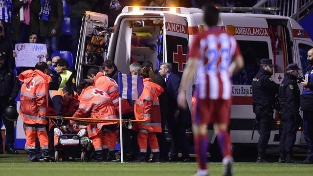Liga: Fernanado Torres s'écroule et perd connaissance après un choc...Explications