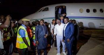 Arrivé de Akon
