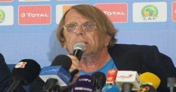 Le Roy lors de la conférence de presse