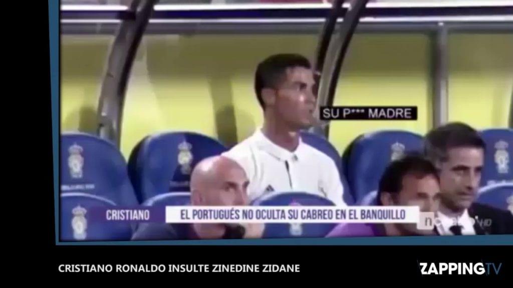 Remplacé en fin de match, Ronaldo a insulté Zidane