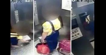 Une chinoise jette son bébé dans les poubelles