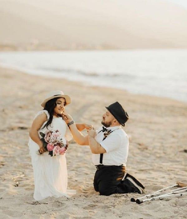 Ce couple handicapé vous fera forcément croire en l'amour: PHOTOS